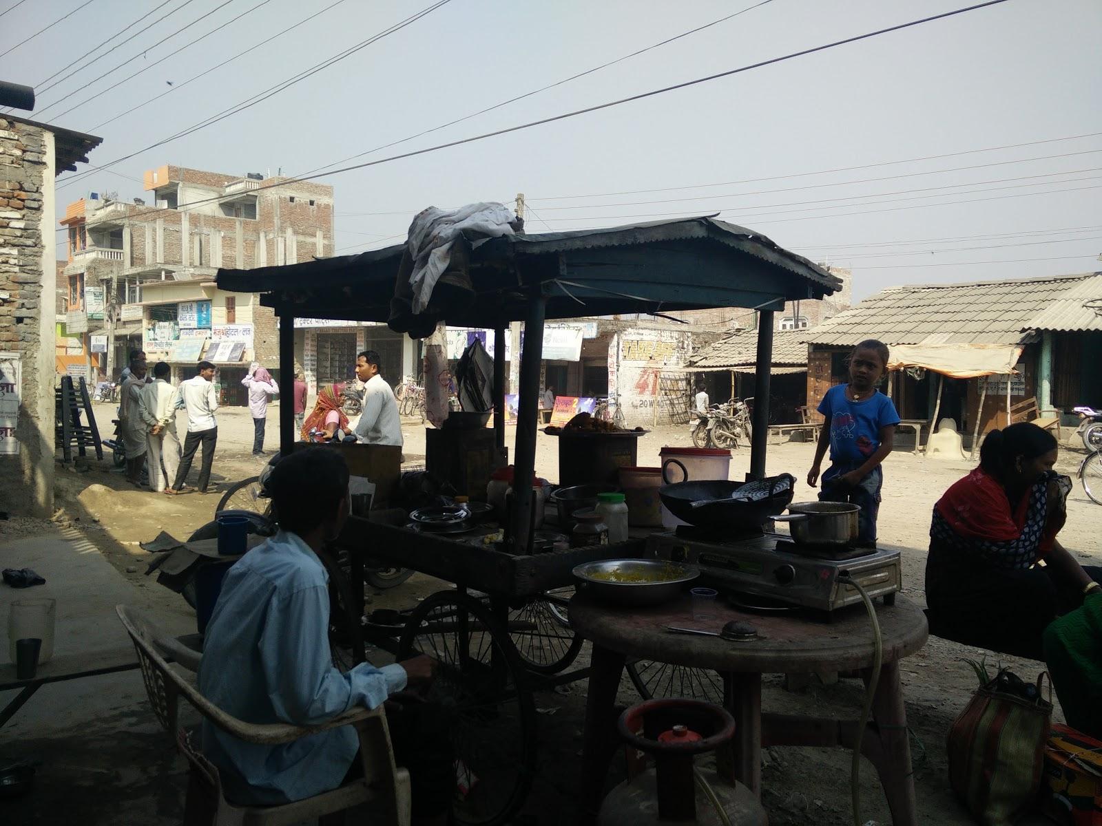 Barahathawa street food