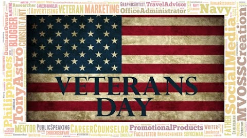 """We won't have Hanukkah or Christmas & Other Holidays & """"Days"""" without our Veterans"""