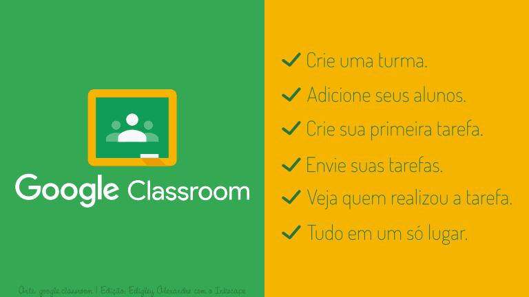 Como criar turmas e tarefas com o 'Google Sala de aula' em alguns minutos