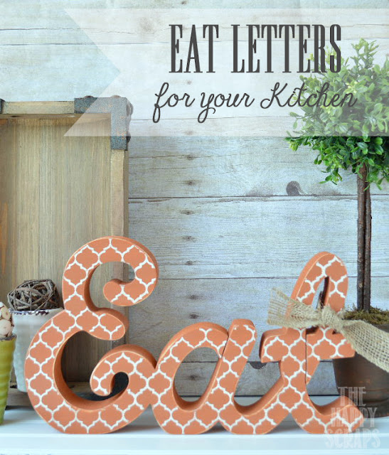 Eat Letters for your Kitchen
