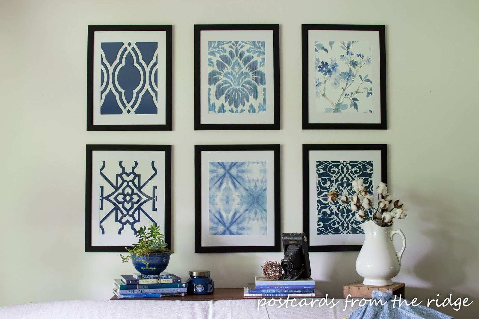 Affordable DIY Artwork Inspired by Pottery Barn ~ Rock