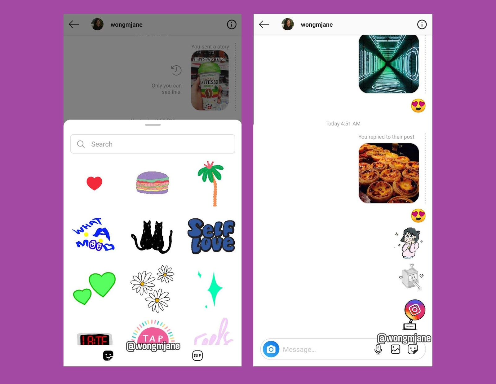 Instagram Will Soon Let You Direct Message With Stickers