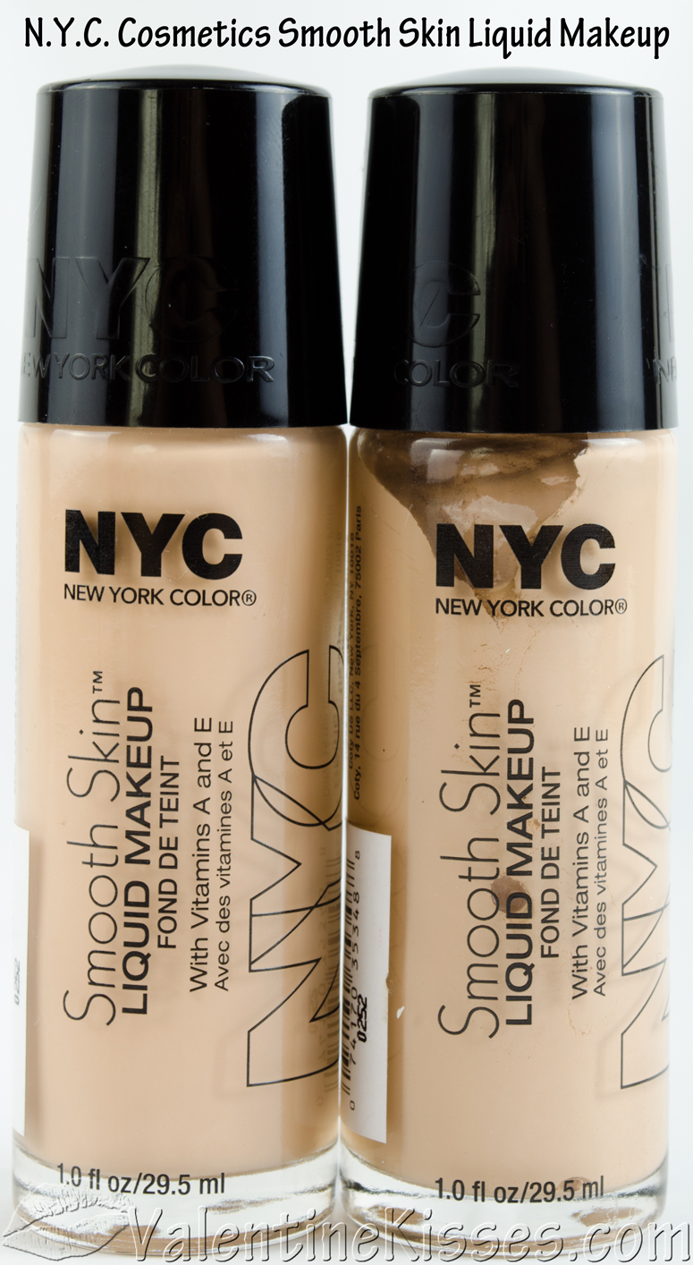 Makeup Products: Valentine Kisses: N.Y.C. Cosmetics Smooth Skin Liquid