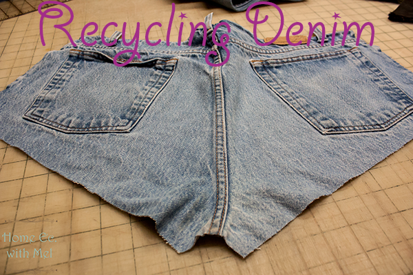 recyling jeans