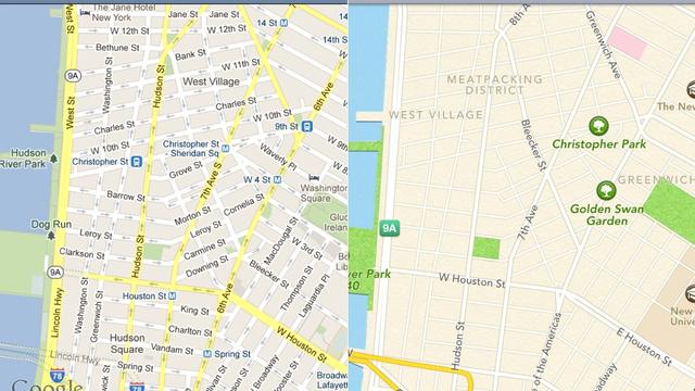 Google Maps và Apple Maps - có nên mua iPhone cũ hay không?