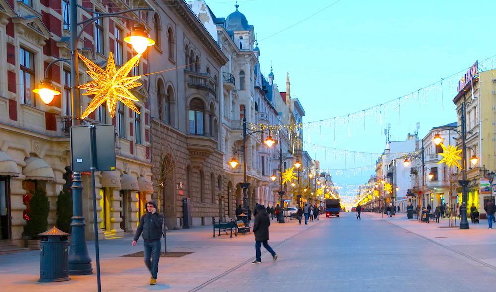 Łódź | Piotrkowska co zobaczyć