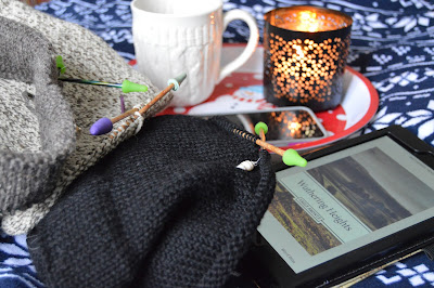 Bliss is hot coffee, a warm blanket, a scented candle, a good book and a few hats to knit. https://www.etsy.com/shop/jeanniegrayknits