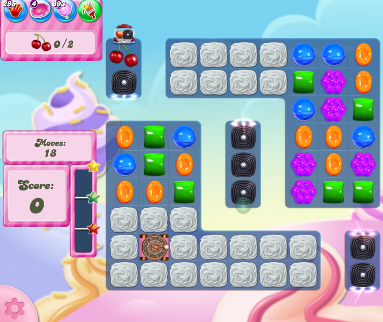 Candy Crush Saga level 2837