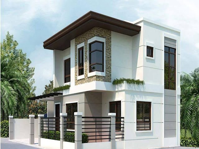Two Floor Houses with 3rd Floor Serving as a Roof Deck