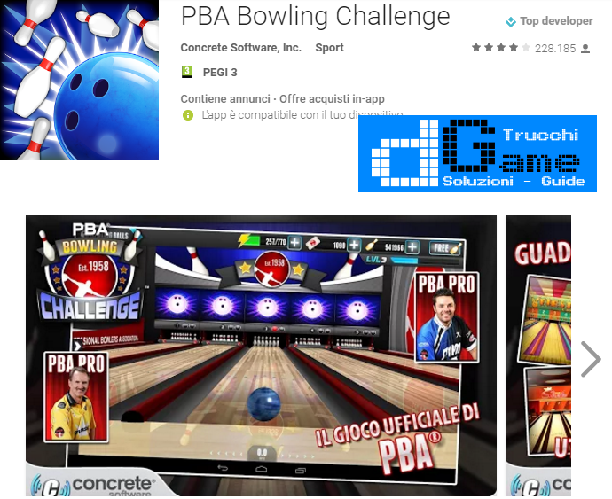 Trucchi PBA® Bowling Challenge Mod Apk Android v3.1.0
