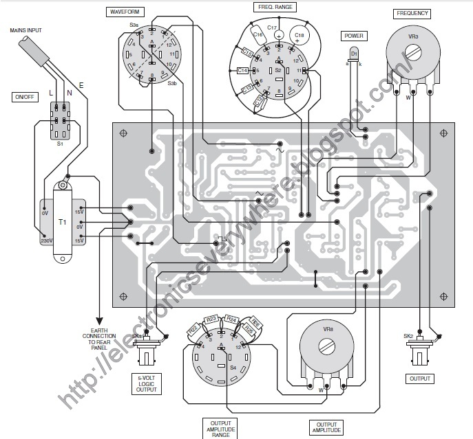 Electronics EveryWhere: Versatile 200KHz Function Generator using ICL8038