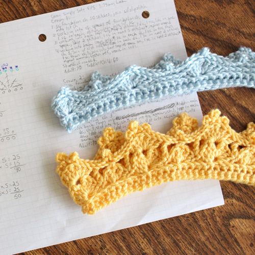 Crochet Crowns - Two Free Patterns