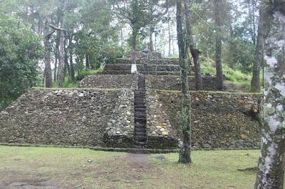 Candi Kethek Pyramid, Central Java Indonesia