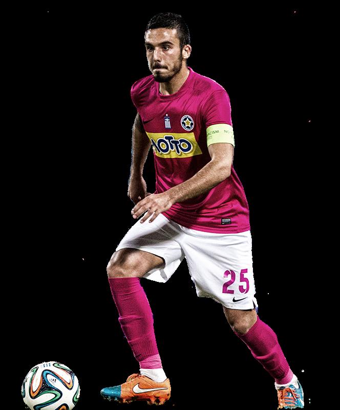 Συνέντευξη του ποδοσφαιριστή του Αστέρα Τρίπολης, Δημήτρη Κουρμπέλη