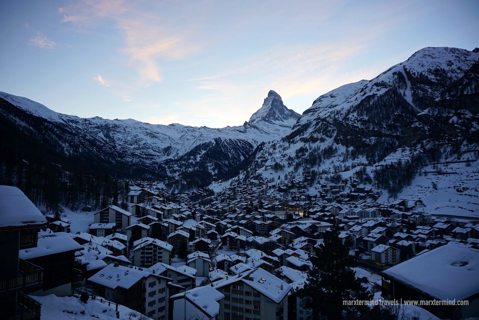 Switzerland trip - Zermatt