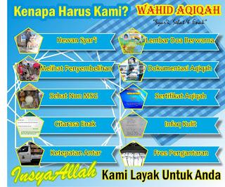 keuntungan memilih wahid aqiqah