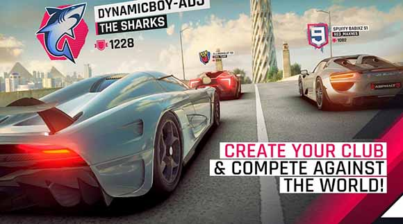 Free Download Asphalt 9: Legends v0.4.6с MOD Apk + OBB Data Terbaru