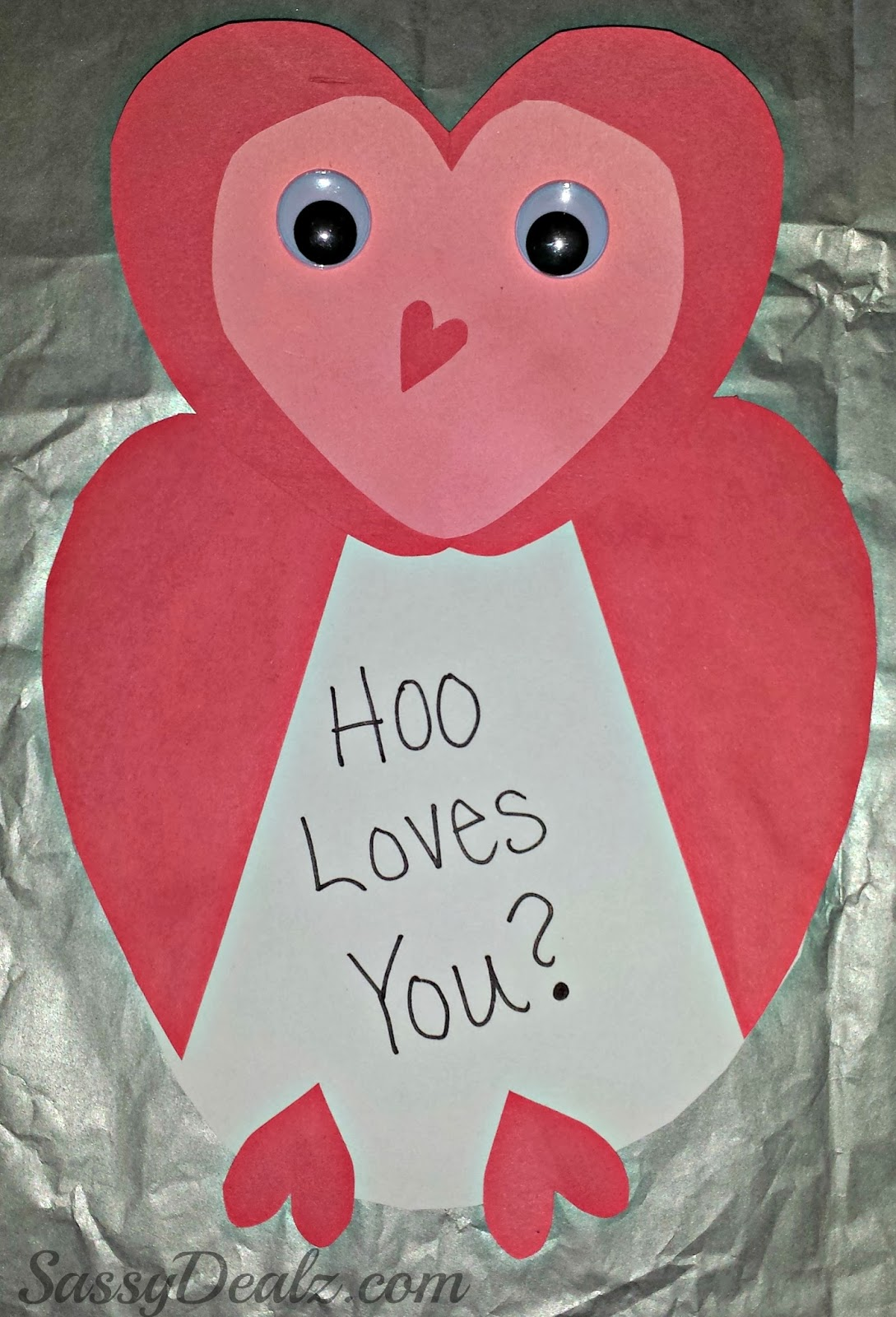 Valentine S Day Heart Shaped Animal Crafts For Kids
