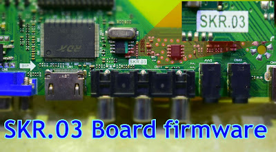 SKR.03 Universal board firmware Download 1400X1050,1440X900,1680X1050,1024X768,1280X1024,1366X768,1920X1080,1920X1200,1600X900,1600X1200 (Flash file)