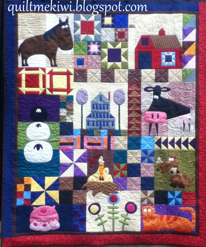 quiltmekiwi: Barn Yard Buddies and Snugly Bugs ... : quilt of a country - Adamdwight.com