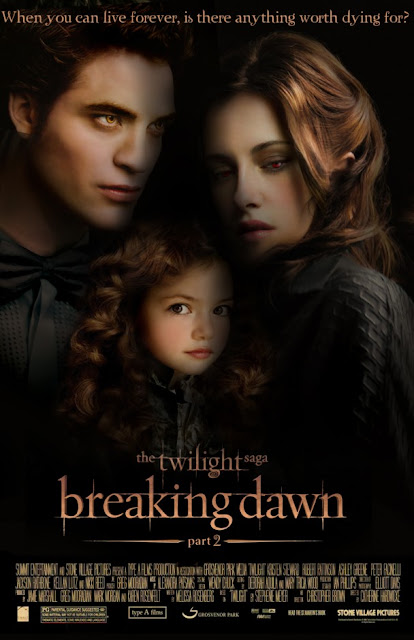 Twilight Saga: Breaking Dawn Part 2 movie poster movieloversreviews.filminspector.com
