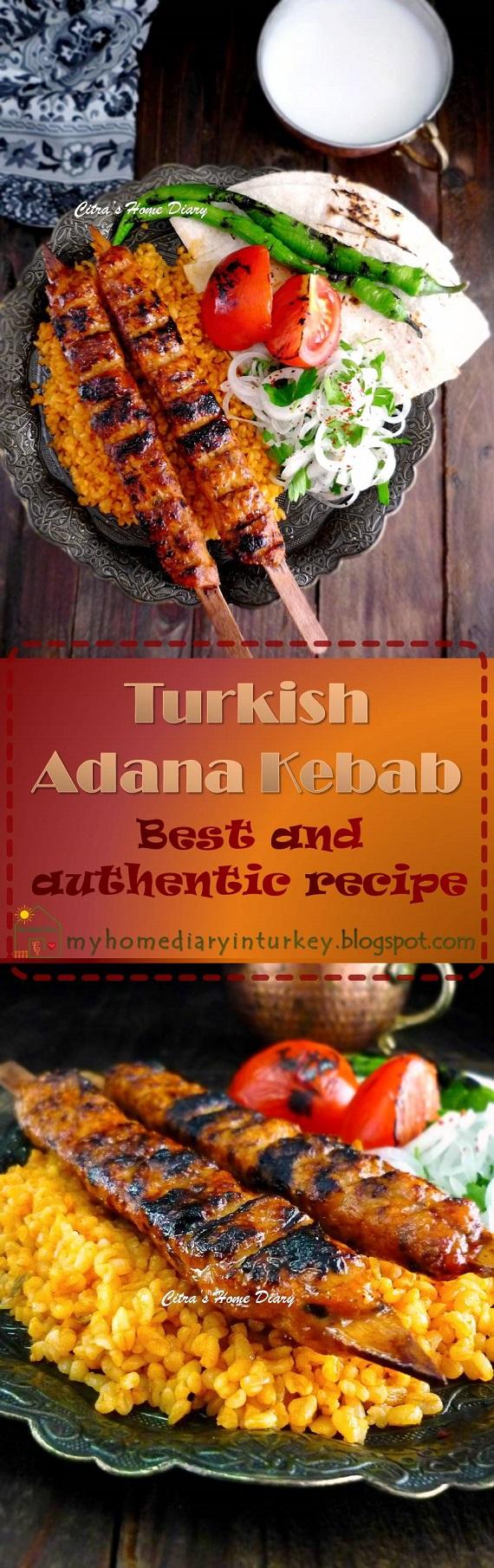 Adana Kebab. Best and authentic recipe. #turkishfood  #resepmasakanturki #caramembuatkebabturki #middleeast #kebab #lamb #meat #kofta #adanakebab #bbq #mangal #authenticrecipe