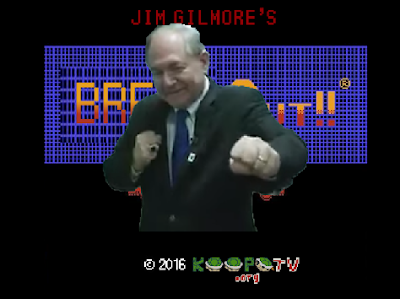 The Wonderful 1237 Jim Gilmore's Break-Out!! title screen KoopaTV Punch-Out!!