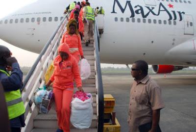 560 nigerians deported libya