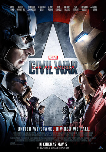 Captain America Civil War 2016 Dual Audio