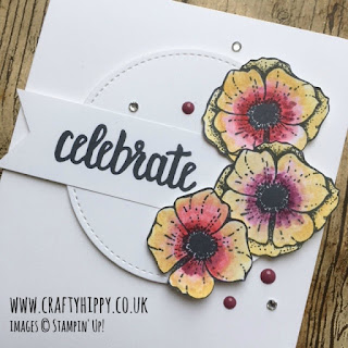 Have a go at making this lovely floral card using the Amazing You Stamp Set by Stampin' Up!