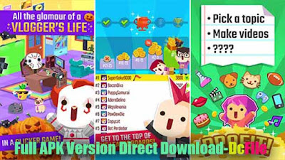 Vlogger Go Viral – Tuber Game 2.25 Apk Free Direct Download, latest version for Android