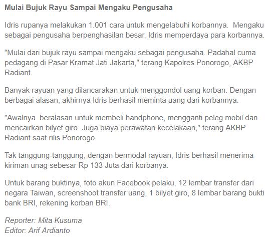 Tertangkap! Ini Trik Penipuan Akun Facebook Wajah Tampan