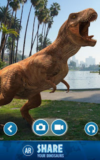 Screenshot Jurassic World Alive MOD APK