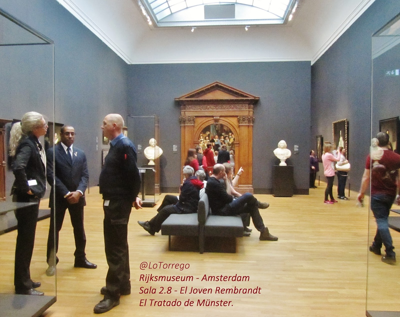 Holanda El Joven Rembrandt En El Rijksmuseum Viajes Para  # Muebles Vikingos La Serena