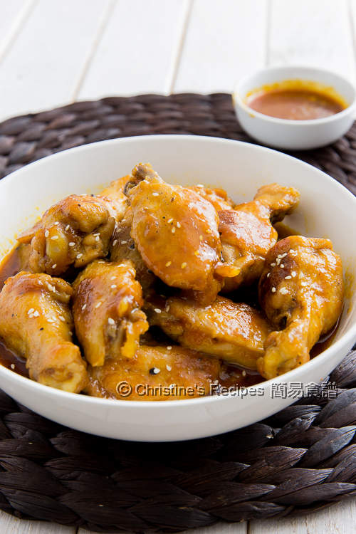 Chicken Wings in BBQ Sauce02