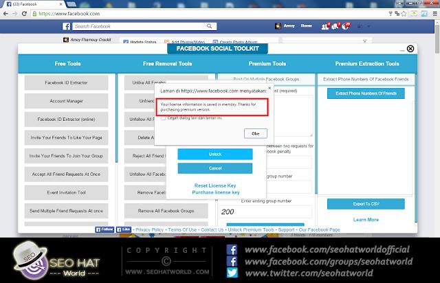 Download Facebook Social Toolkit Premium Latest Version