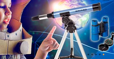 Telescopio observar la vía láctea