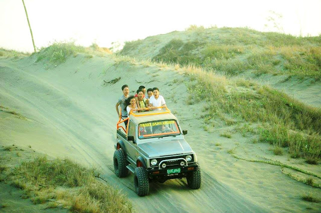 4x4 ride at Paoay Sand Dunes