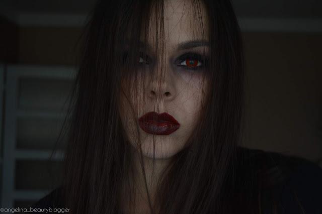 HALLOWEEN MAKEUP VAMPIRE│Návod na jednoduchý a rychlý upíří look
