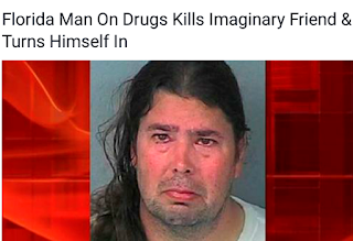 idiot man fail drugs