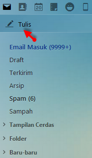 cara mengirim email yahoo (ymail)