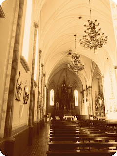 Interior da Igreja Matriz de Bom Jesus