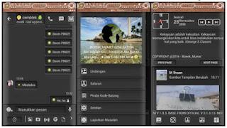 BBM MOD Smooth Black APK V3.1.0.13
