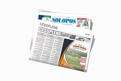 iklan baris tanah dijual di koran Solopos