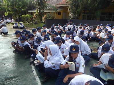 Program Literasi SMP Negeri 8 Cimahi