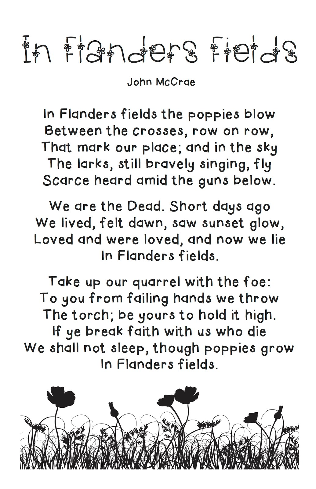 Teachmetech Remembering Remembrance Day Playing With Fonts