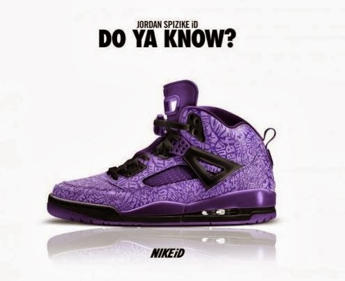 "buy popular 0c174 ca73c Jordan Spiz ike NIKEiD ""OG Print"" Sneaker Available For Limited Time"