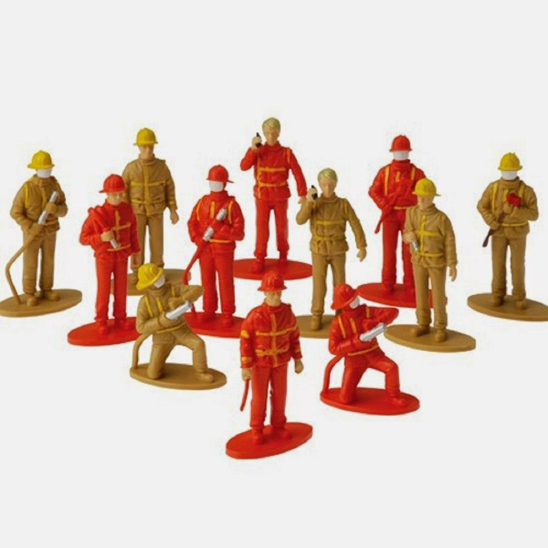 Firefighter Toy Figurines