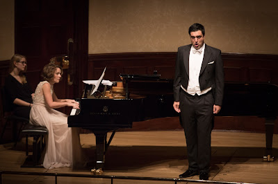 Milan Siljanov and his accompanist Nino Chokhonlidze win top prizes at Wigmore Hall Song Competition c. Ben Ealovega