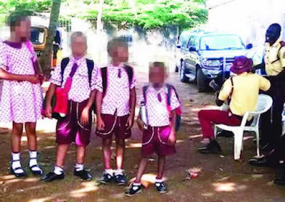 LASTMA officials 'detain' schoolchildren over driver's traffic offence